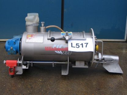 20 L RT high speed paddle mixer, batch or continuous mixing.